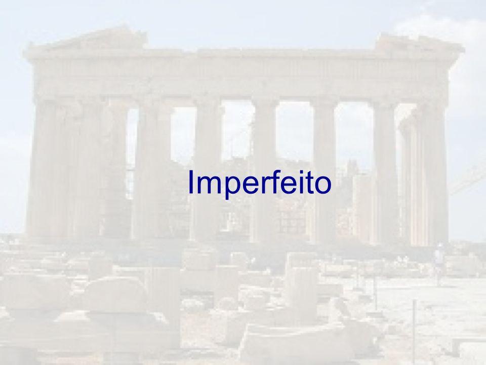Imperfeito
