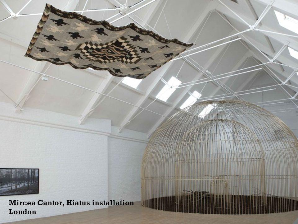 Mircea Cantor, Hiatus installation London