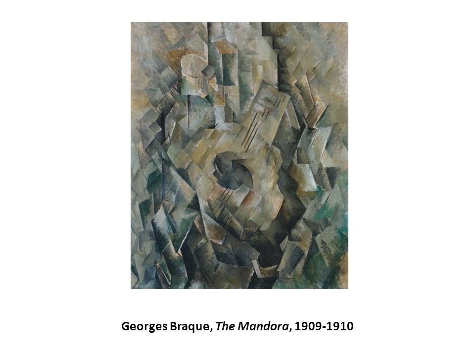 Georges Braque, The Mandora, 1909-1910