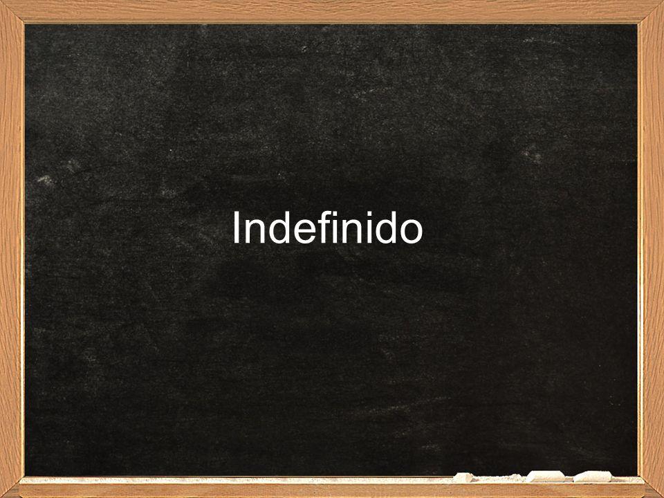 Indefinido