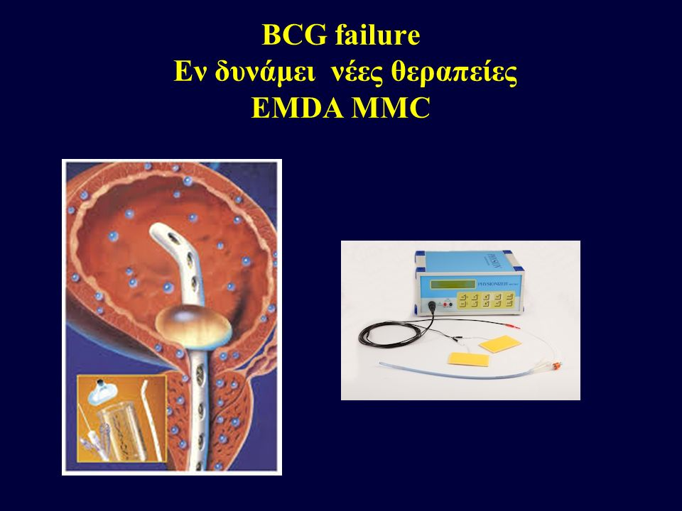 BCG failure Εν δυνάμει νέες θεραπείες EMDA MMC