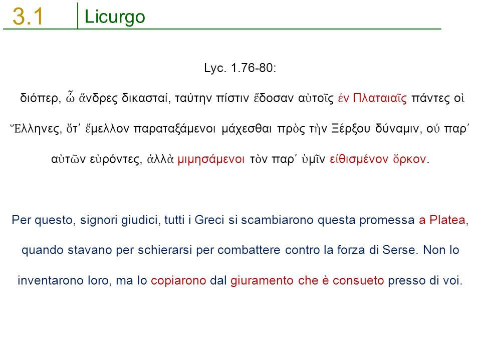 Licurgo 3.1 Lyc.