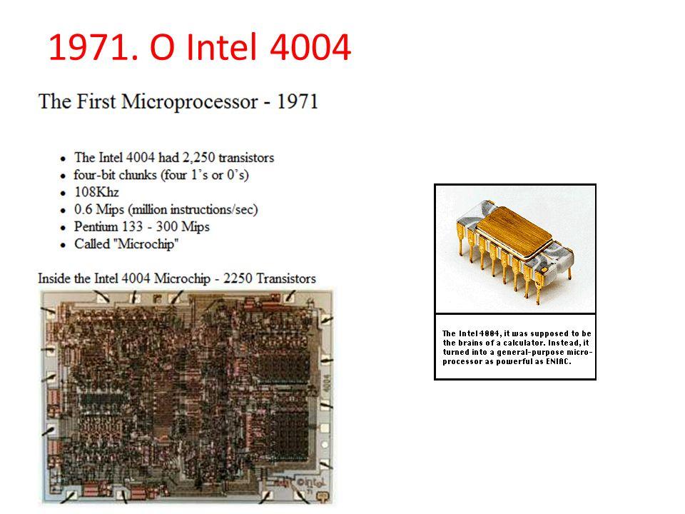 1971. O Intel 4004