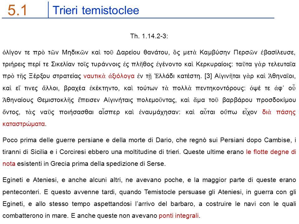 Trieri temistoclee 5.1 Th.