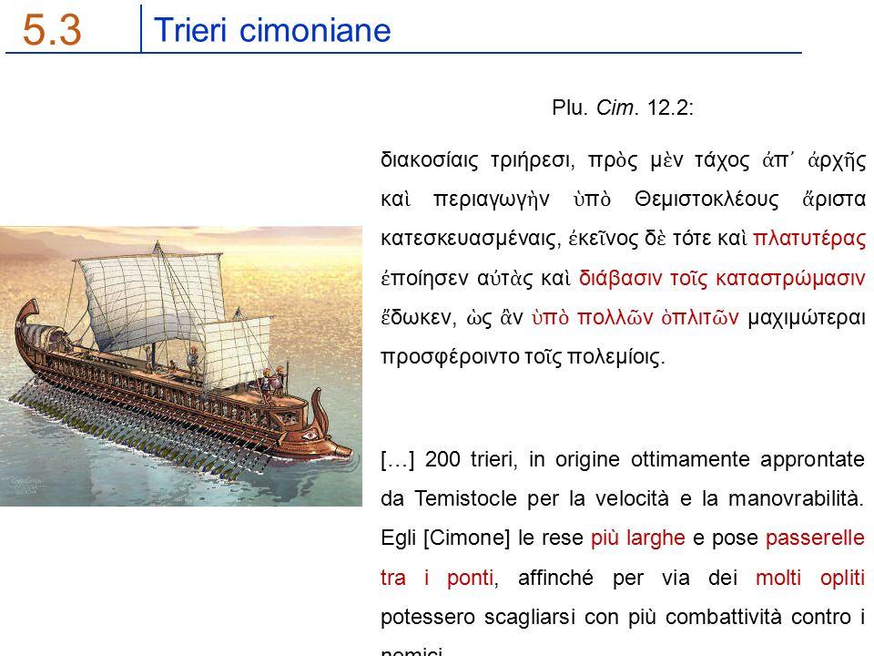 Trieri cimoniane 5.3 Plu. Cim.