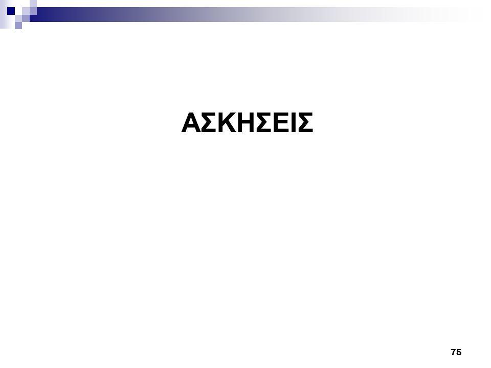 ΑΣΚΗΣΕΙΣ 75