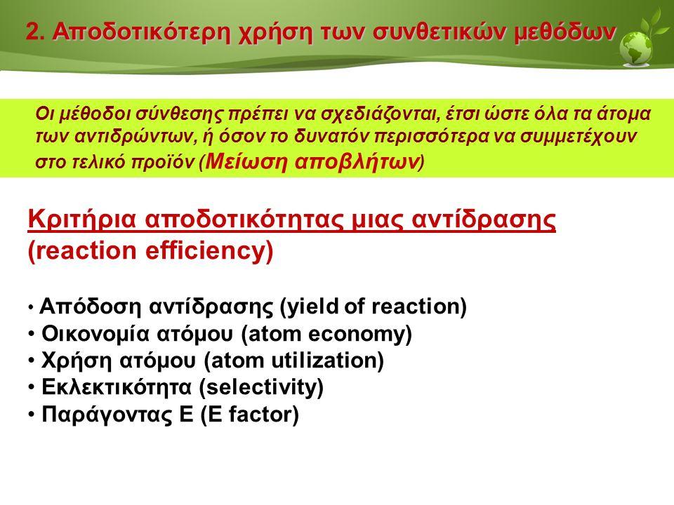 Page  26 Αποδοτικότερη χρήση των συνθετικών μεθόδων 2.