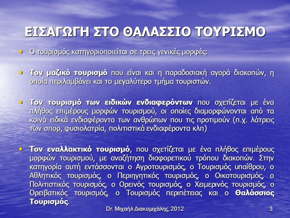54 O ανταγωνισμός για τα ελληνικά λιμάνια σκαφών αναψυχής προέρχεται από τις χώρες της Βορειοδυτικής Μεσογείου (Γαλλία, Ιταλία, Ισπανία), αλλά και της Βορειοανατολικής Μεσογείου (Τουρκία, Κροατία).