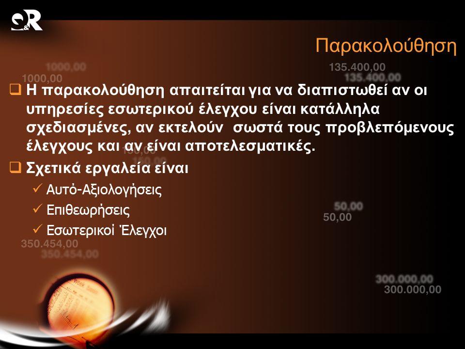 ΤΕΛΟΣ Η παρουσίαση θα δημοσιευθεί στον δικτυακό τόπο της Quality & Reliability www.qnr.com.gr