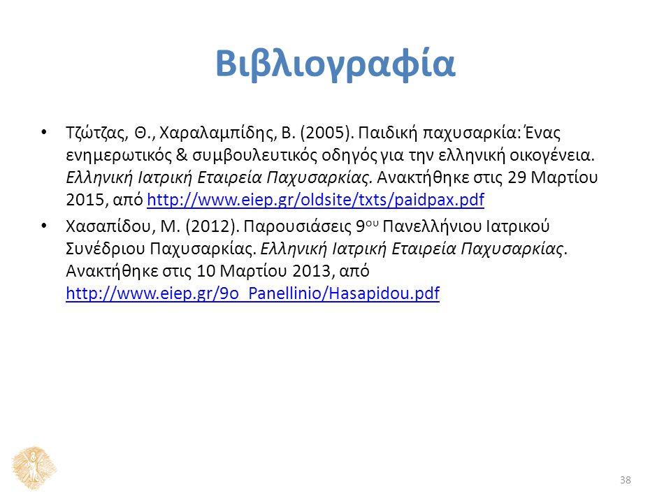 Βιβλιογραφία Τζώτζας, Θ., Χαραλαμπίδης, Β. (2005).
