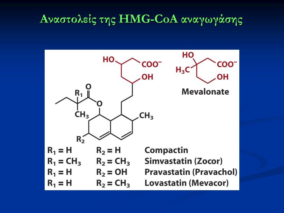 Αναστολείς της HMG-CoA αναγωγάσης