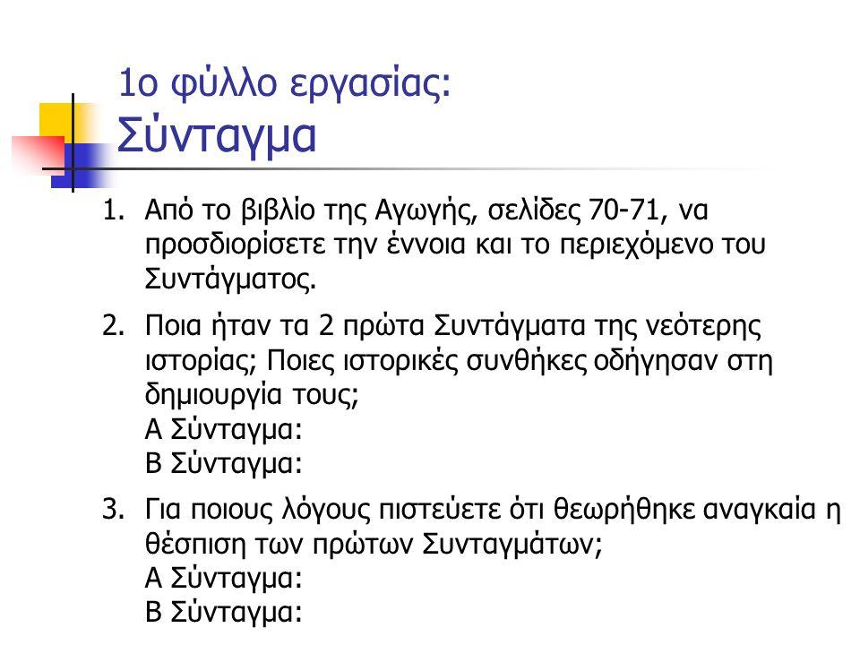 ΤΟΠΙΚΗ ΙΣΤΟΡΙΑ Ερευνητική εργασία Χωρισμός σε ομάδες Επιλογή θέματος Προτεινόμενα θέματα: Κάτω Πατήσια: απ τη μονοκατοικία στην πολυκατοικία Ο Ηλεκτρικός Σιδηρόδρομος στη γειτονιά μας Αθήνα, το κέντρο της Συνταγματικής μας Ιστορίας