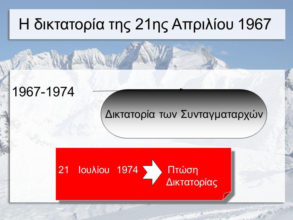 1952 Ψήφιση Συντάγματος το οποίο καθιέρωνε τη Βασιλευόμενη Δημοκρατία Ψήφιση Συντάγματος το οποίο καθιέρωνε τη Βασιλευόμενη Δημοκρατία