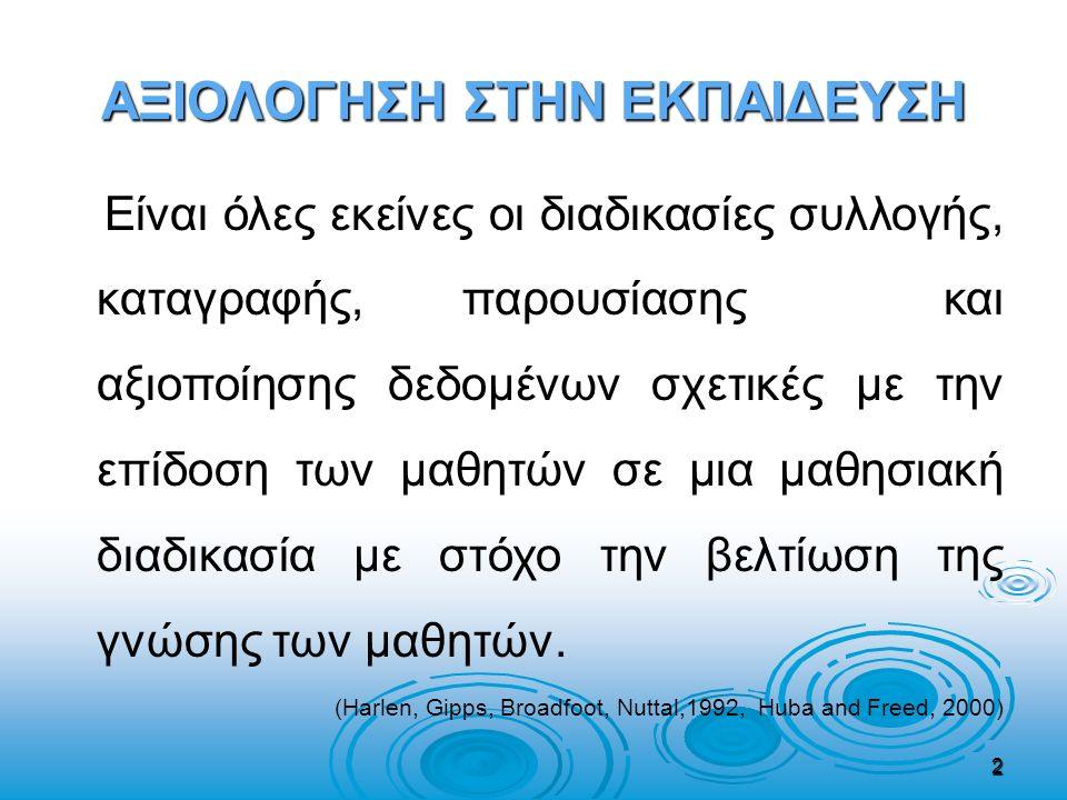 Σχολική Χρονιά 1991-92   Οι μαθητές των Γυμνασίων εξετάζονται στα μαθήματα : Νέα Ελληνικά, Μαθηματικά, Ιστορία και Φυσικά.
