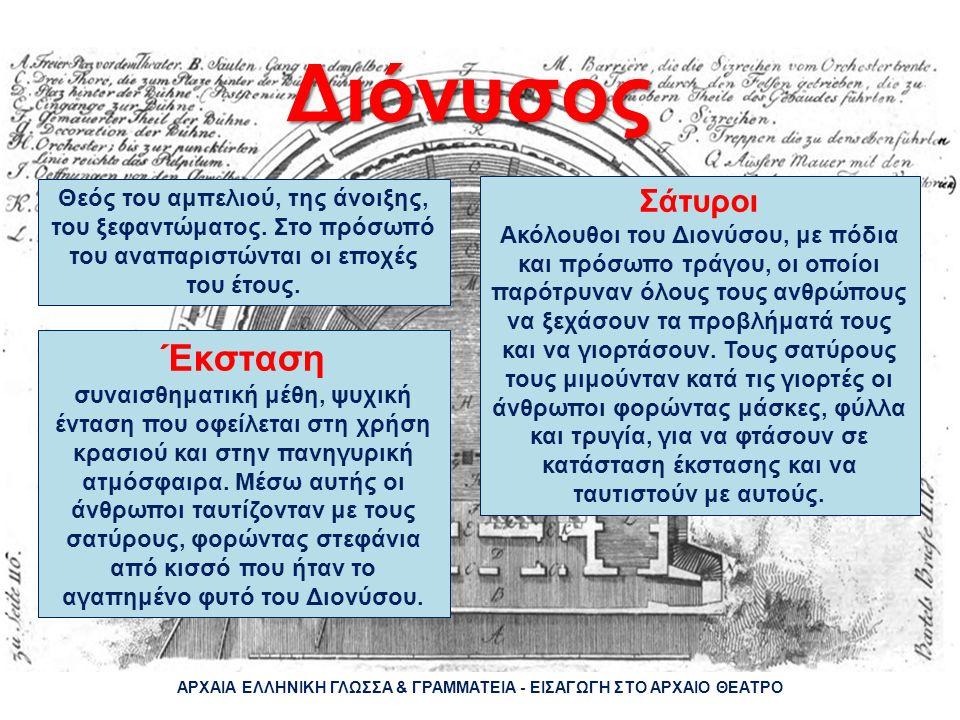 Το αρχαίο θέατρο της Επιδαύρου ΑΡΧΑΙΑ ΕΛΛΗΝΙΚΗ ΓΛΩΣΣΑ & ΓΡΑΜΜΑΤΕΙΑ - ΕΙΣΑΓΩΓΗ ΣΤΟ ΑΡΧΑΙΟ ΘΕΑΤΡΟ
