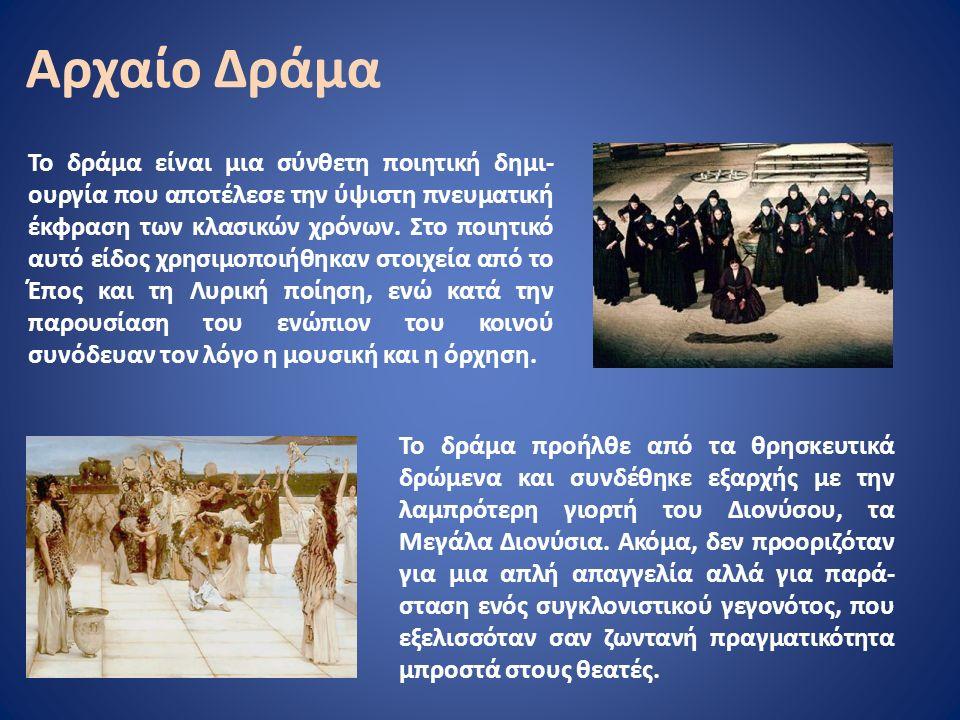 Κάτοψη αρχαίου ελληνικού θεάτρου