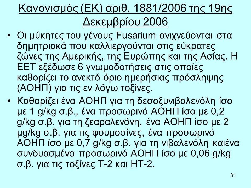 31 Κανονισμός (ΕΚ) αριθ.