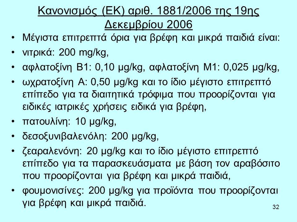 32 Κανονισμός (ΕΚ) αριθ.