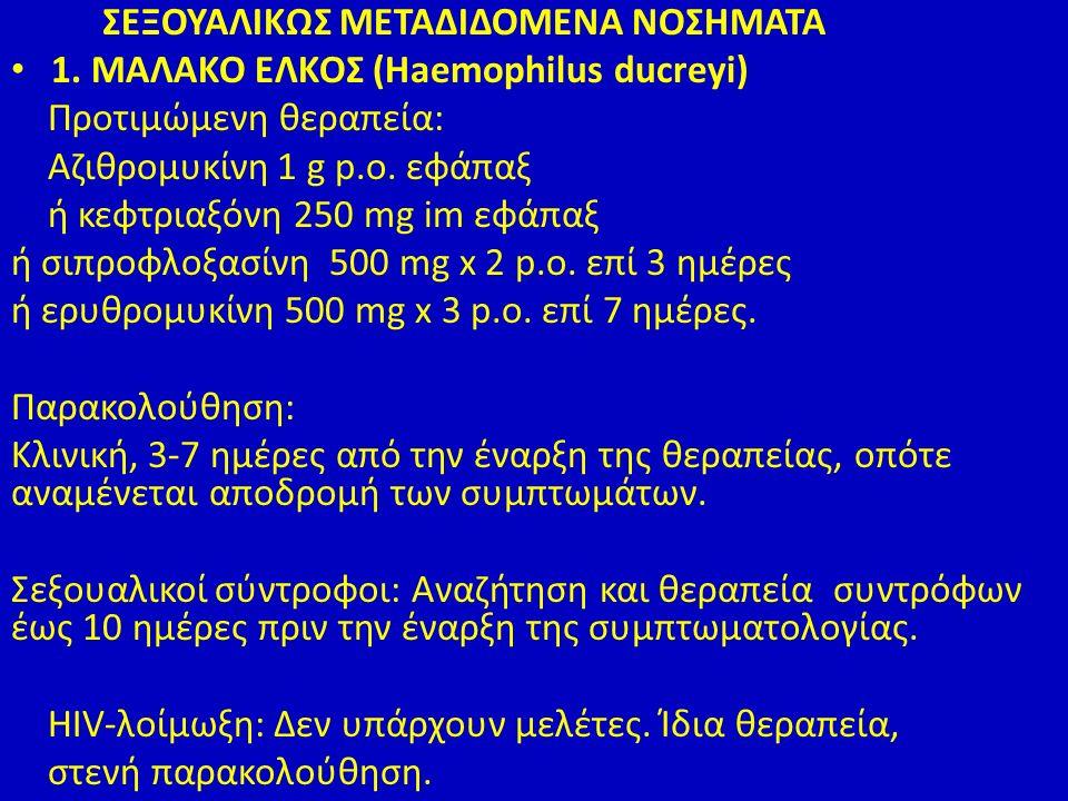 ΣΕΞΟΥΑΛΙΚΩΣ ΜΕΤΑΔΙΔΟΜΕΝΑ ΝΟΣΗΜΑΤΑ 1.
