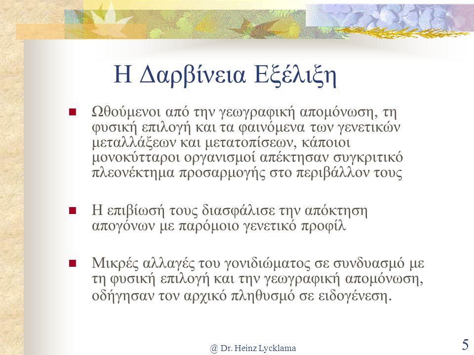 @ Dr.Heinz Lycklama 26 3.