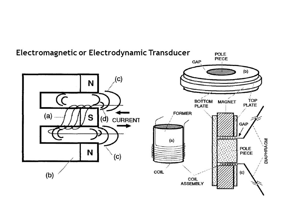 Electromagnetic or Electrodynamic Transducer