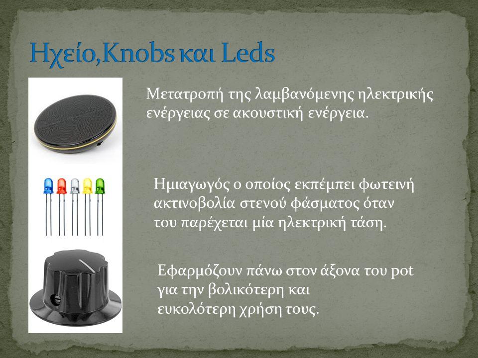 Mετατροπή της λαμβανόμενης ηλεκτρικής ενέργειας σε ακουστική ενέργεια.