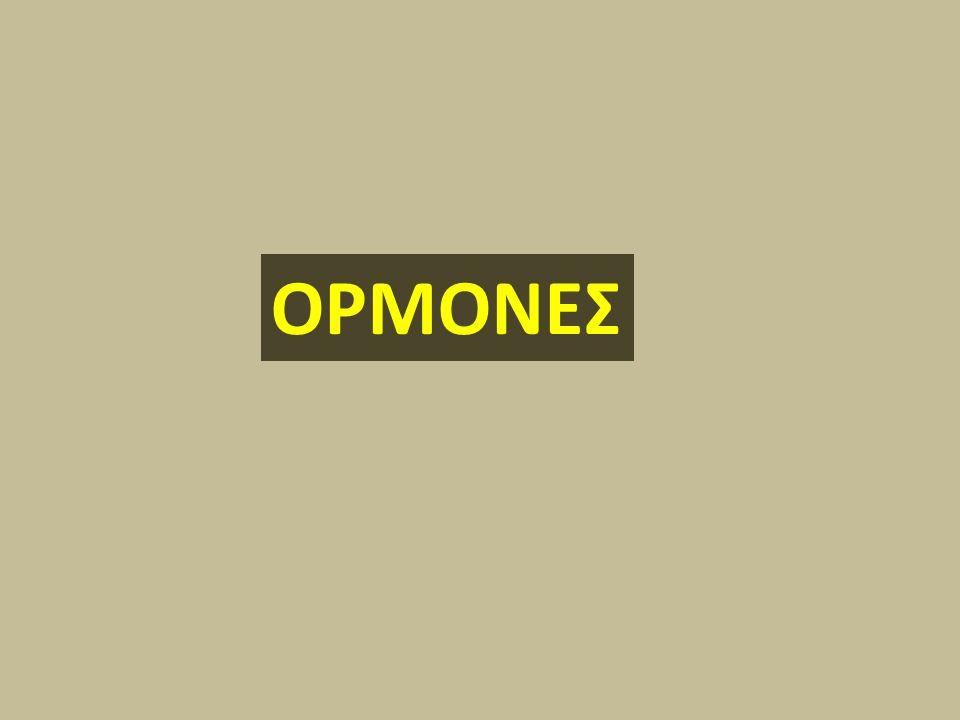 Οι ορμόνες μαζί με το νευρικό σύστημα ρυθμίζουν τη λειτουργία του ανθρώπινου οργανισμού.