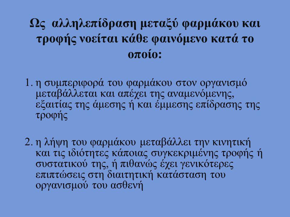 ΚΑΤΑ ΤΗ ΔΙΑΡΚΕΙΑ ΤΗΣ ΘΕΡΑΠΕΙΑΣ ΜΕ ΑΝΑΣΤΟΛΕΙΣ ΜΑΟ - ΤΡΟΦΕΣ ΠΟΥ ΠΡΕΠΕΙ: ΝΑ ΑΠΟΦΕΥΓΟΝΤΑΙ Κόκκινα κρασιάΠαράγωγα ζύμης Τυριά (ειδικά το ροκφόρ)Λουκάνικα ΚυνήγιΜπύρα Καπνιστά ψάριαΕκχυλίσματα κρέατος Κρέας, όχι φρέσκο, ΣυκώτιΡέγγες ΦασόλιαΚάθε τροφή, που έχει διατηρηθεί για μεγάλο διάστημα ΜπανάναΚάθε τροφή, που δημιουργεί ανεπιθύμητα συμπτώματα