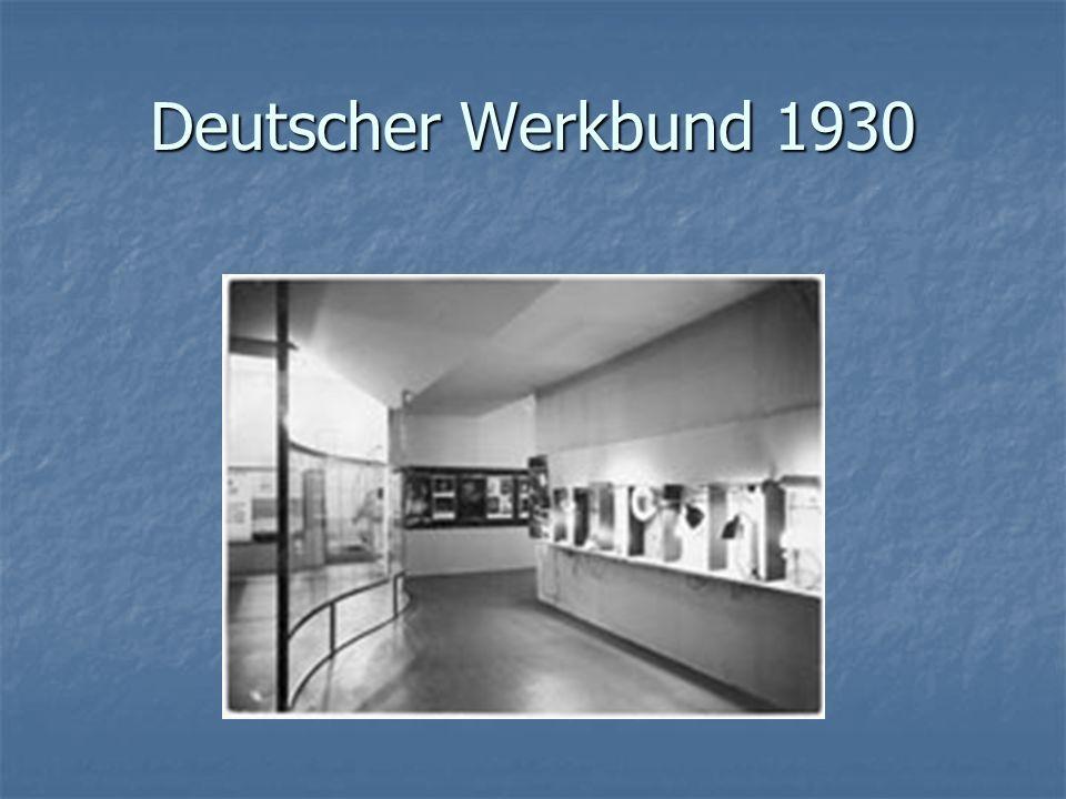 Deutscher Werkbund 1930