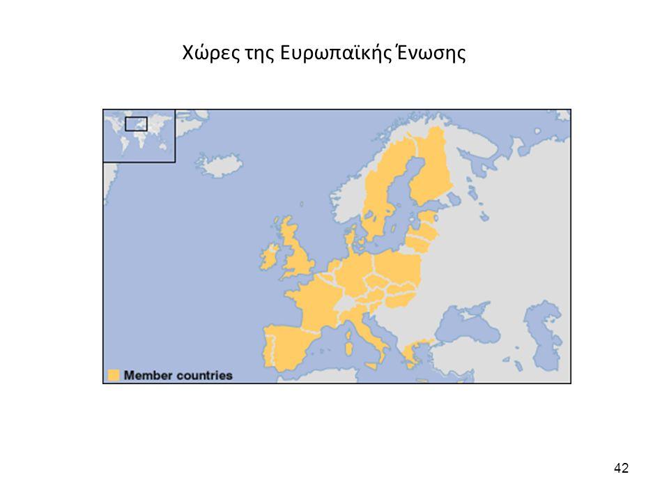 Χώρες της Ευρωπαϊκής Ένωσης 42