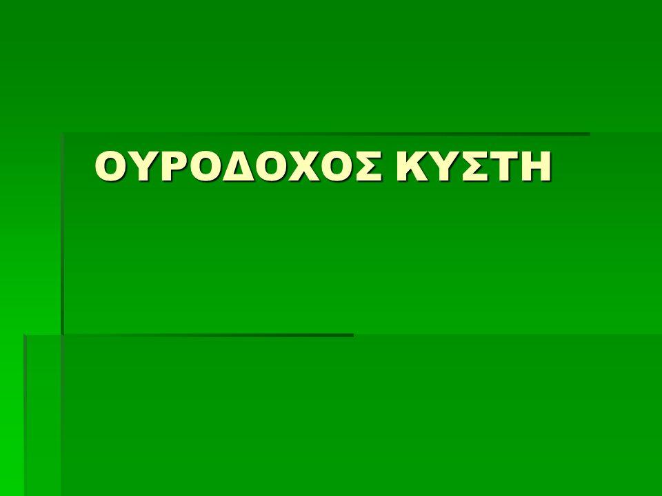 ΟΥΡΟΔΟΧΟΣ ΚΥΣΤΗ ΟΥΡΟΔΟΧΟΣ ΚΥΣΤΗ