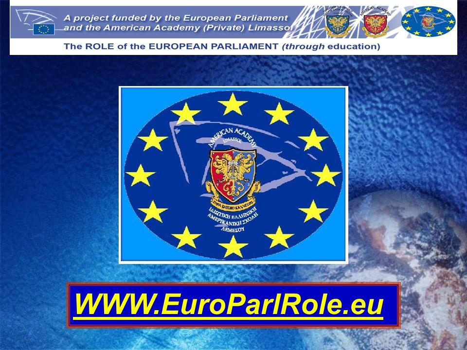 WWW.EuroParlRole.eu