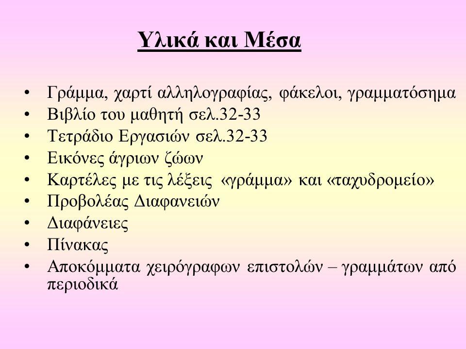 Πρώτο Ογδοντάλεπτο Αφόρμηση Κλειστός φάκελος με το γράμμα για την Ιωάννα.
