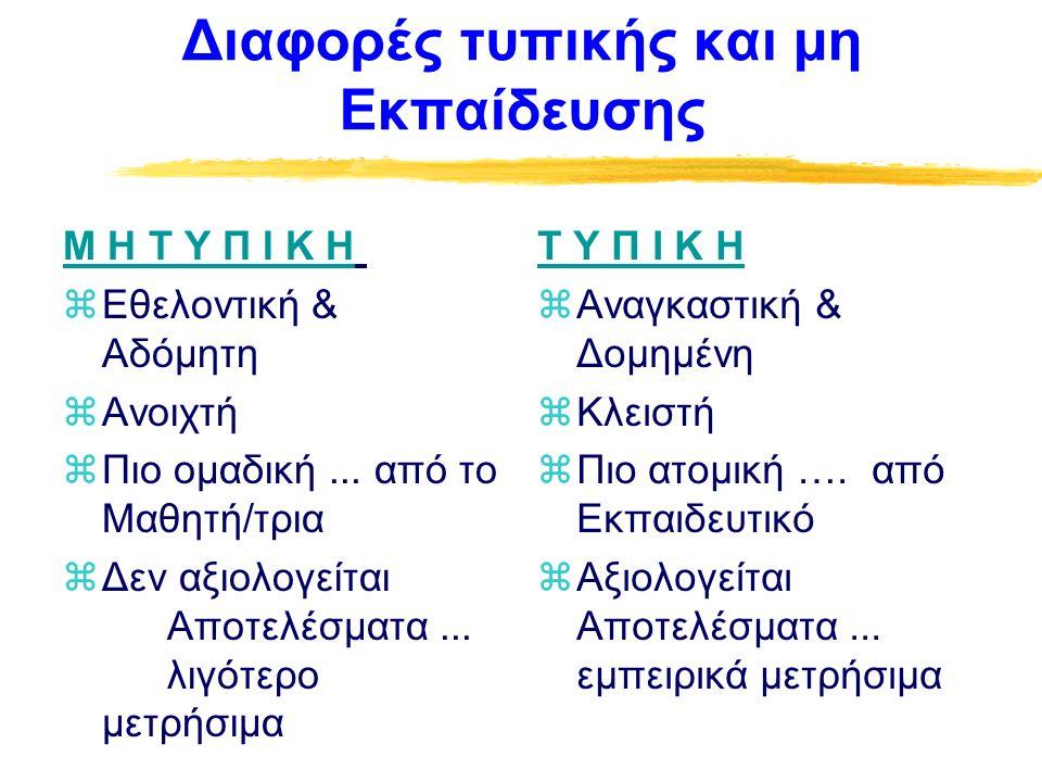 ΕΙΔΗ ΕΚΘΕΜΑΤΩΝ