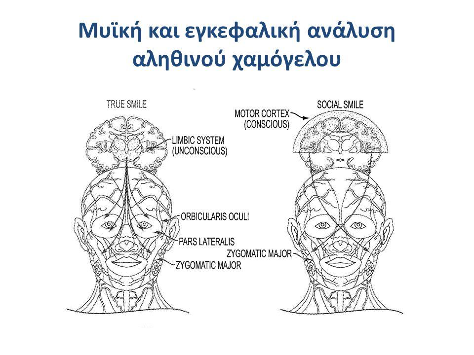 Μυϊκή και εγκεφαλική ανάλυση αληθινού χαμόγελου