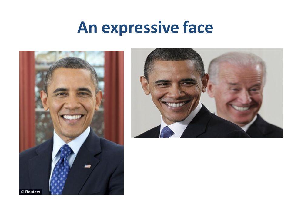 An expressive face