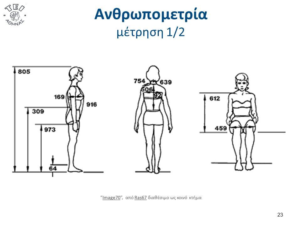 """Ανθρωπομετρία μέτρηση 1/2 23 """"Image70"""", από Ras67 διαθέσιμο ως κοινό κτήμαImage70Ras67"""