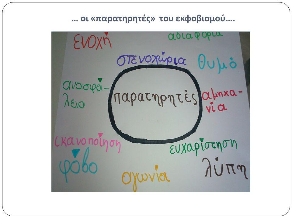 … οι « παρατηρητές » του εκφοβισμού ….