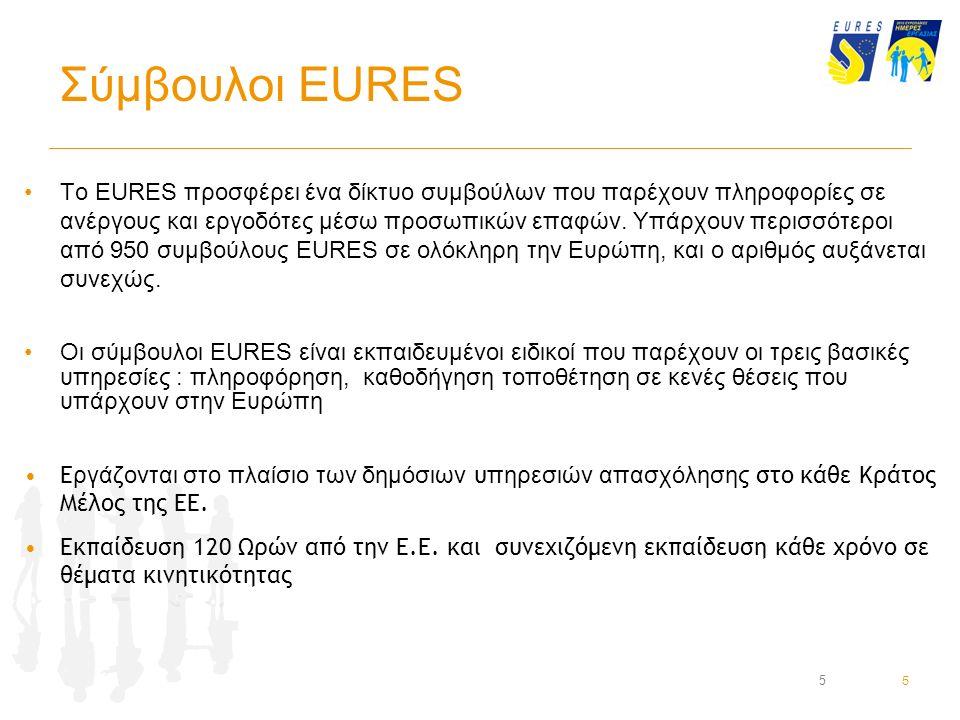 16 Βρείτε Εργασία μέσω EURES Να αναζητάτε μόνο τις κενές θέσεις που έχουν αναρτηθεί τον τελευταίο μήνα.