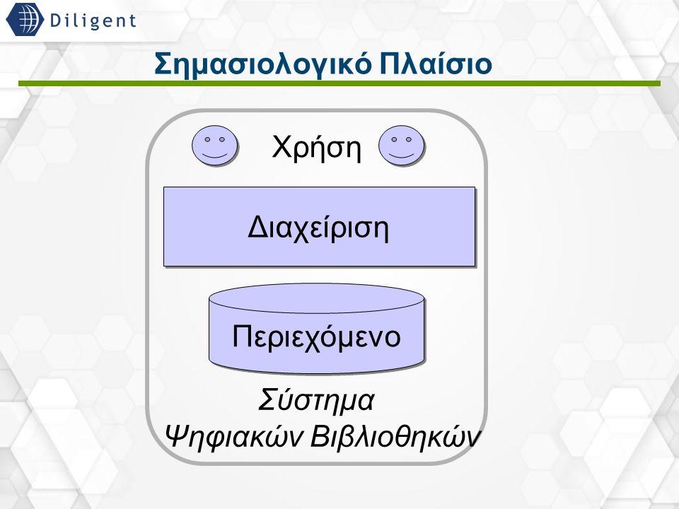 4 Σημασιολογικό Πλαίσιο Περιεχόμενο Διαχείριση Χρήση Σύστημα Ψηφιακών Βιβλιοθηκών