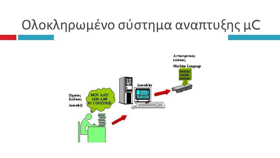 Ολοκληρωμένο σύστημα αναπτυξης μ C