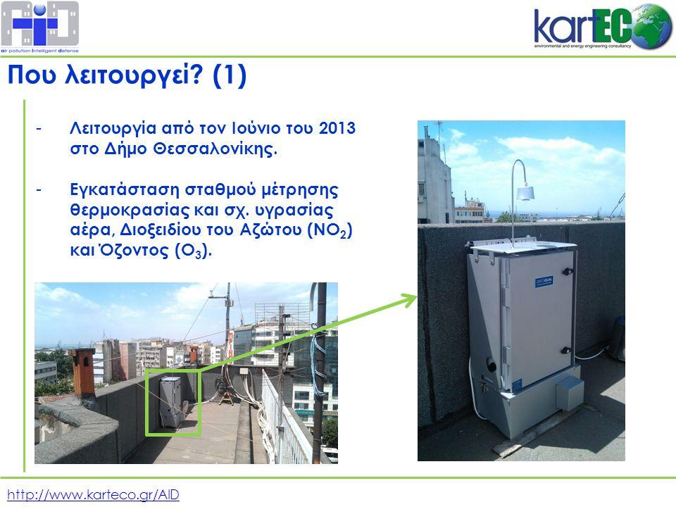 http://www.karteco.gr/AID - Λειτουργία από τον Ιούνιο του 2013 στο Δήμο Θεσσαλονίκης.