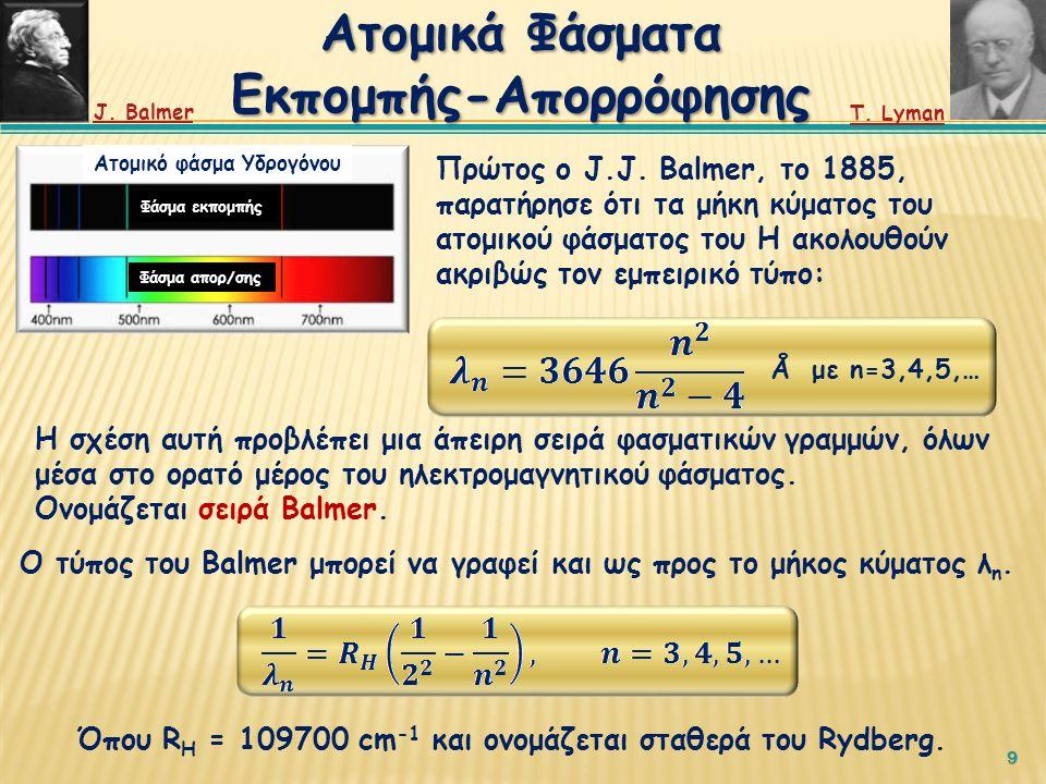  Παράλληλα, καθώς η ακτίνα περιστροφής του ηλεκτρονίου μειώνεται, η συχνότητα της εκπεμπόμενης ΗΜ ακτινοβολίας θα μεταβάλλεται συνεχώς.