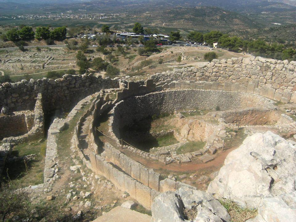 Ταφικός Περίβολος Α΄ Μυκηνών - κτερίσματα