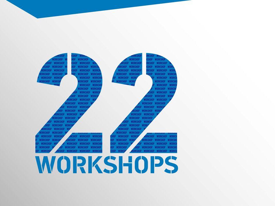 22 workshops