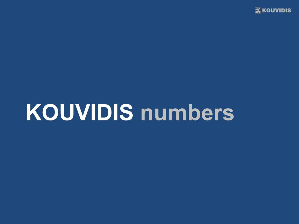 KOUVIDIS numbers
