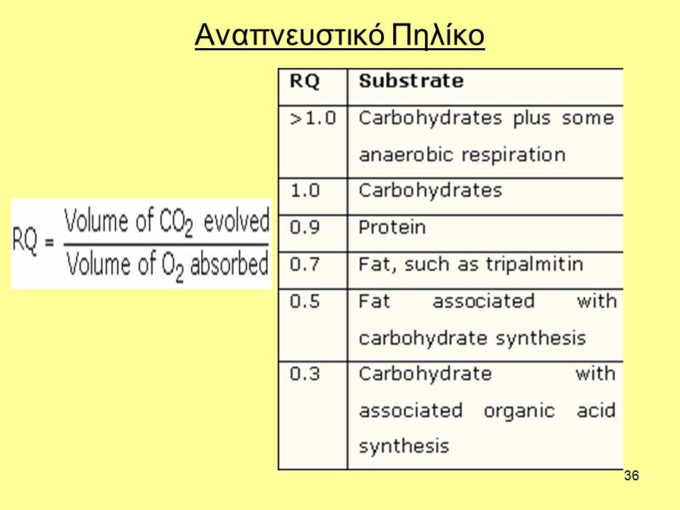 36 Αναπνευστικό Πηλίκο