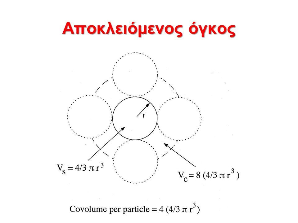 Στατική σκέδαση φωτός από διαλύματα με μεγάλα σωματίδια (R>λ/20n o ) Αν οι διαστάσεις των σωματιδίων είναι συγκρίσιμες του λ τότε τα σκεδαζόμενα φωτεινά κύματα από τα διάφορα σημεία του σωματιδίου φτάνουν στο σημείο παρατήρησης σημαντικά εκτός φάσης οδηγώντας σε εξασθένηση (φαινόμενο συμβολής) του σκεδαζόμενου φωτός.