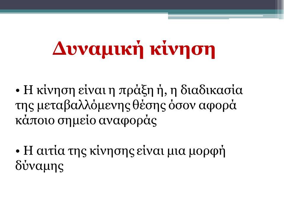 Μοχλός 3ου είδους Η δύναμη αντίστασης είναι ο καρπός Υπομόχλιο είναι ο ακγώνας Η εφαρμοζόμενη δύναμη εξασφαλίζεται από τη δύναμη των καμπτήρων Ταχύτητα & εύρος κίνησης Οι περισσότερες κινήσεις του ανθρώπινου κινητικού μηχανισμού γίνονται με μοχλόυς 3 ου είδους (κερδίζονατι μεγαλύτερες μετατοπίσεις των μελών εφαρμόζοντας, σε αντιστάθμισμα, μεγάλες δυνάμεις)