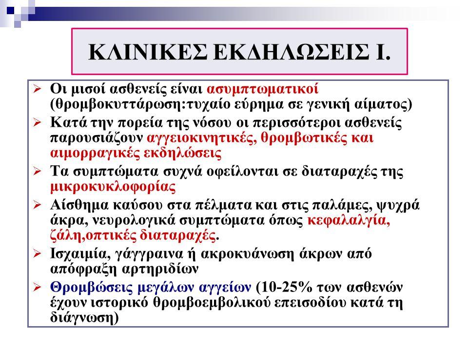 ΚΛΙΝΙΚΕΣ ΕΚΔΗΛΩΣΕΙΣ I.
